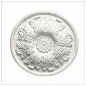 "12"" Small Acanthus Plaster Ceiling Rose 305mm"